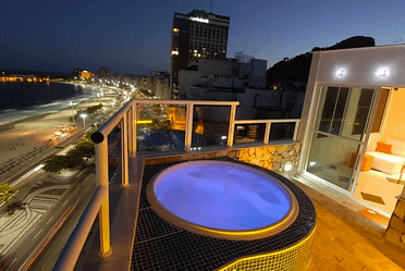 Vacation Penthouses in Copacabana