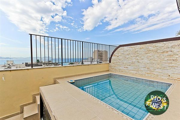 Furnished Penthouse Apartment with Pool in Rio de Janeiro